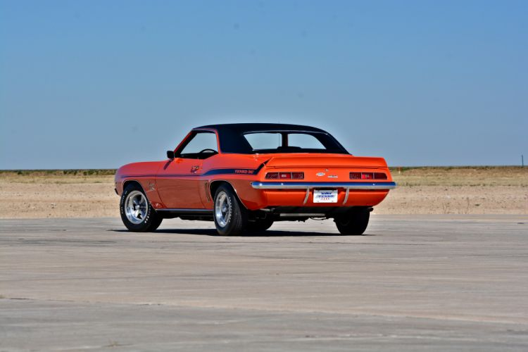 1969 Chevrolet Camaro Yenko SC 427 Muscle Old Classic USA -19 wallpaper