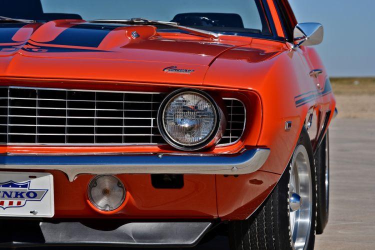 1969 Chevrolet Camaro Yenko SC 427 Muscle Old Classic USA -21 wallpaper