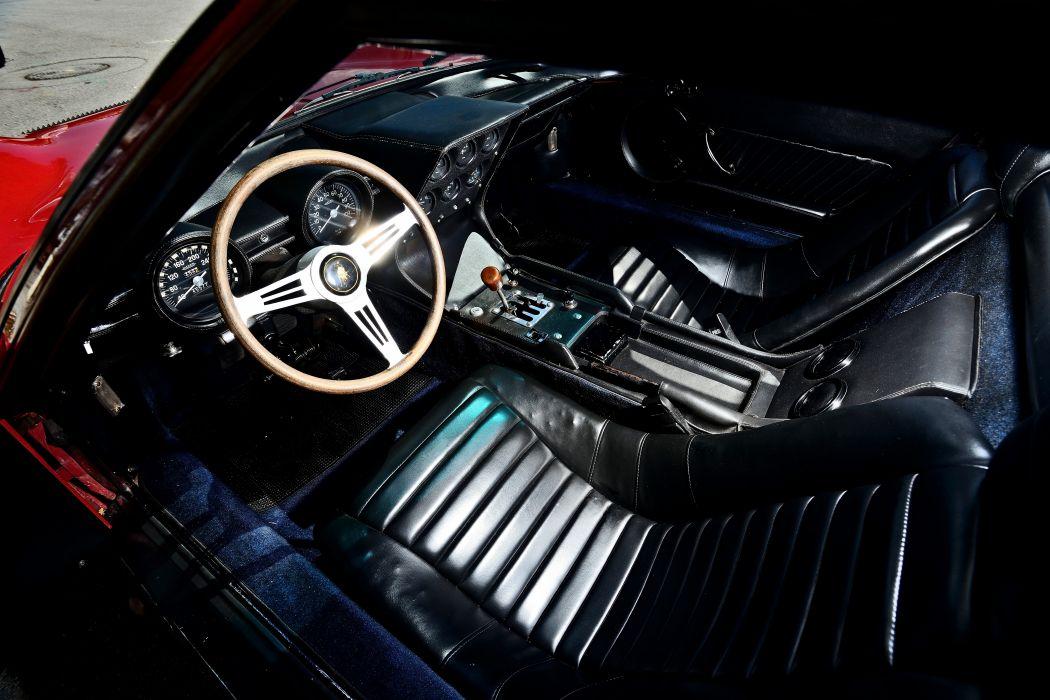 1968 Lamborghini Miura P400 Exotic Old Classic Italy -04 wallpaper