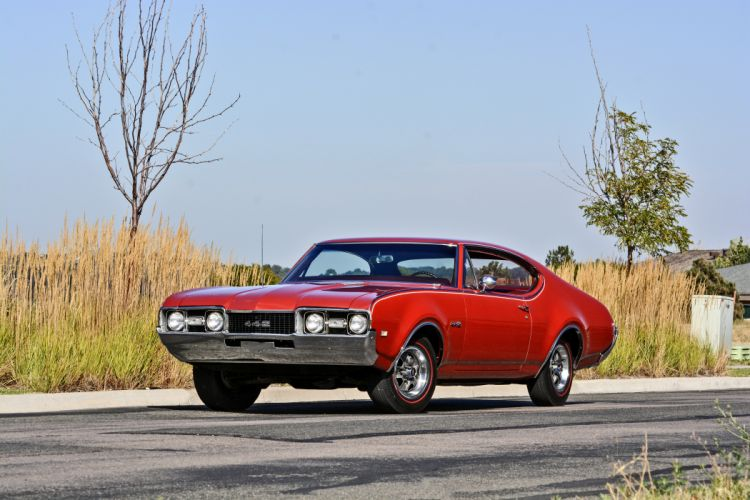 1968 Oldsmobile 442 Muscle Old Classic Original USA -01 wallpaper
