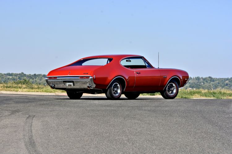 1968 Oldsmobile 442 Muscle Old Classic Original USA -03 wallpaper