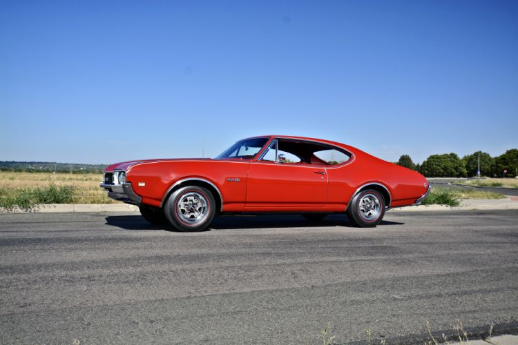 1968 Oldsmobile 442 Muscle Old Classic Original USA -02 wallpaper