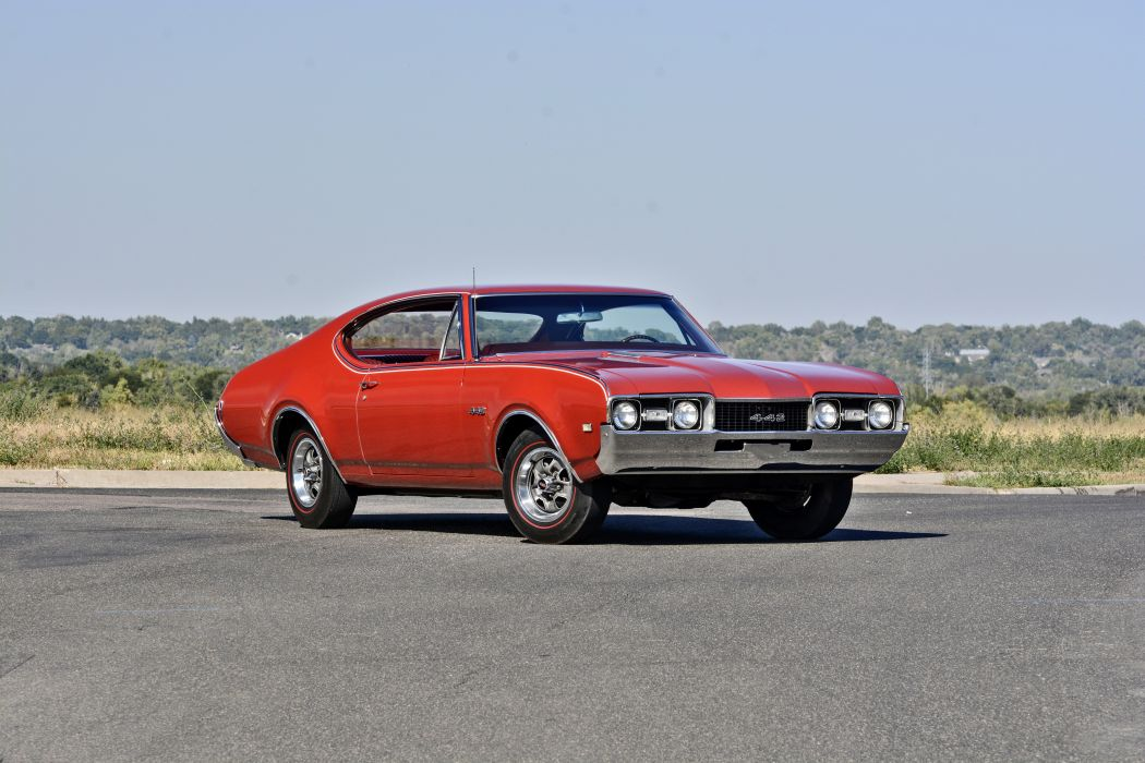 1968 Oldsmobile 442 Muscle Old Classic Original USA -11 wallpaper