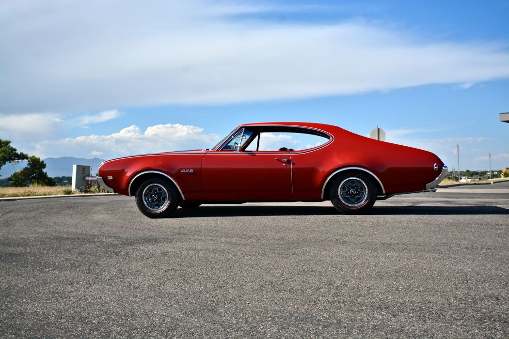 1968 Oldsmobile 442 Muscle Old Classic Original USA -12 wallpaper