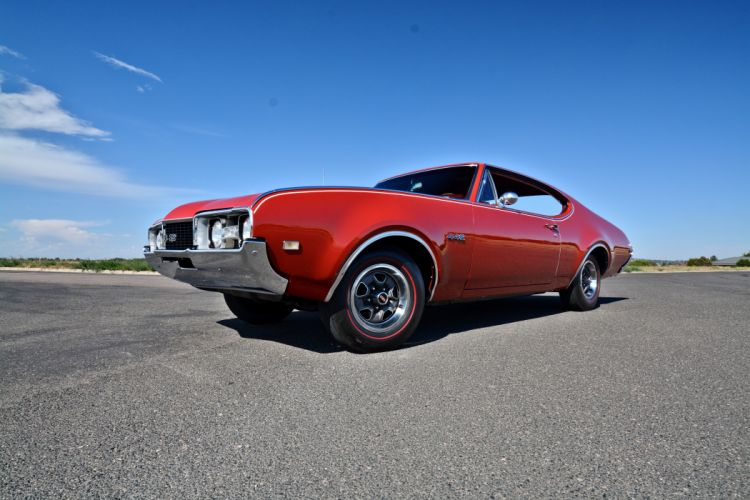 1968 Oldsmobile 442 Muscle Old Classic Original USA -15 wallpaper