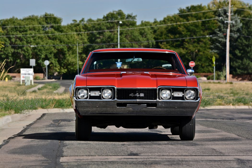 1968 Oldsmobile 442 Muscle Old Classic Original USA -22 wallpaper