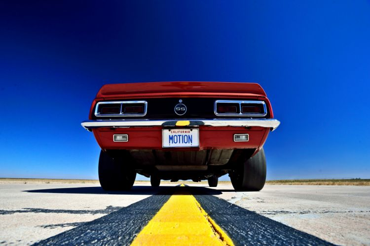 1968 Chevrolet Camaro RS SS Motion Phase III Muscle Classic Old Original USA -14 wallpaper