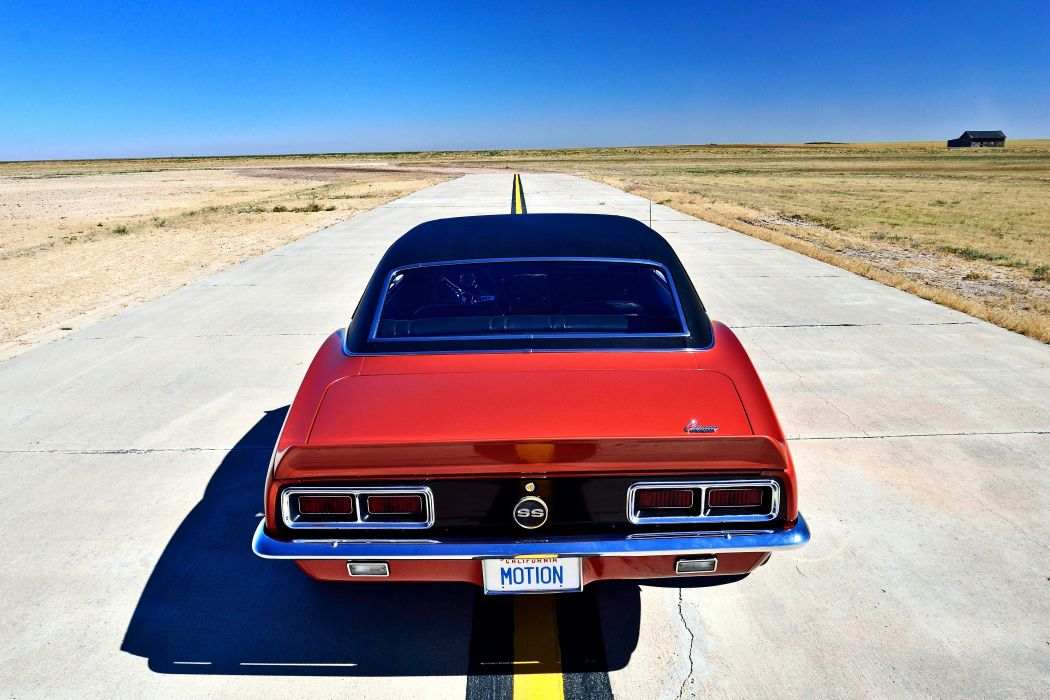 1968 Chevrolet Camaro RS SS Motion Phase III Muscle Classic Old Original USA -15 wallpaper
