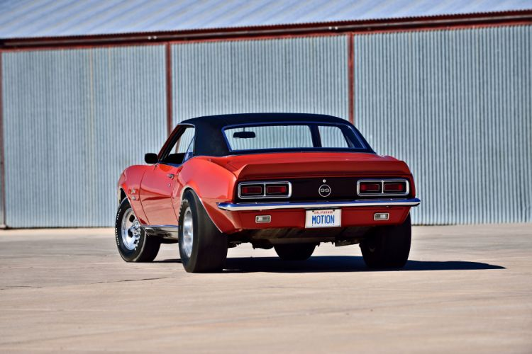 1968 Chevrolet Camaro RS SS Motion Phase III Muscle Classic Old Original USA -28 wallpaper