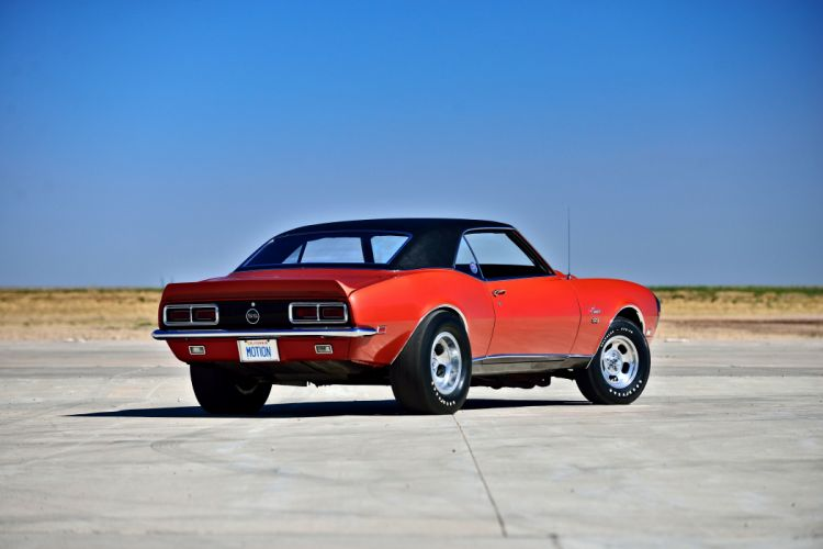 1968 Chevrolet Camaro RS SS Motion Phase III Muscle Classic Old Original USA -35 wallpaper