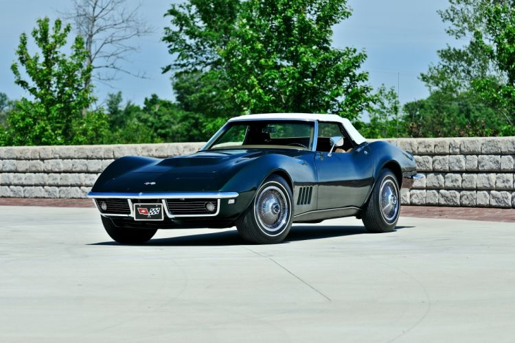 1968 Chevrolet Corvette Convertible Muscle Classic Original USA -01 wallpaper