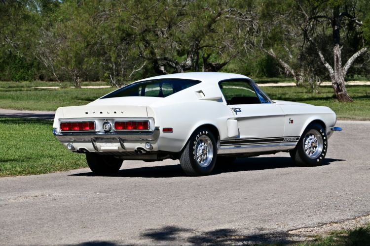 1968 Ford Mustang Shelby GT500 KR Cobra Fastback Muscle Old Classic Original USA -03 wallpaper