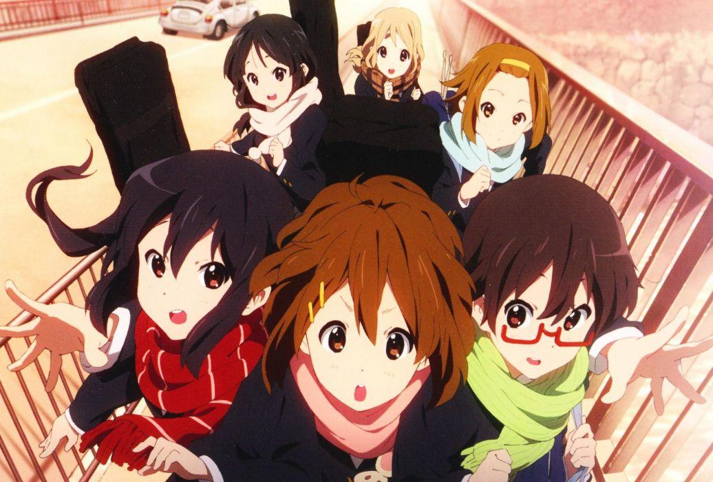 girls K-On! Series Nodoka Manabe Character Yui Hirasawa Character wallpaper