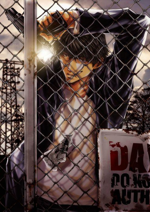 weapon Kazuya Minekura Mangaka Wild Adapter Series Makoto Kubota Character guy wallpaper