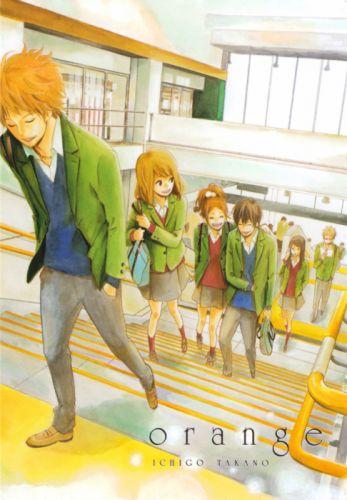Orange (Series) Series Azusa Murasaka Character Hiroto Suwa Character Kakeru Naruse Character wallpaper