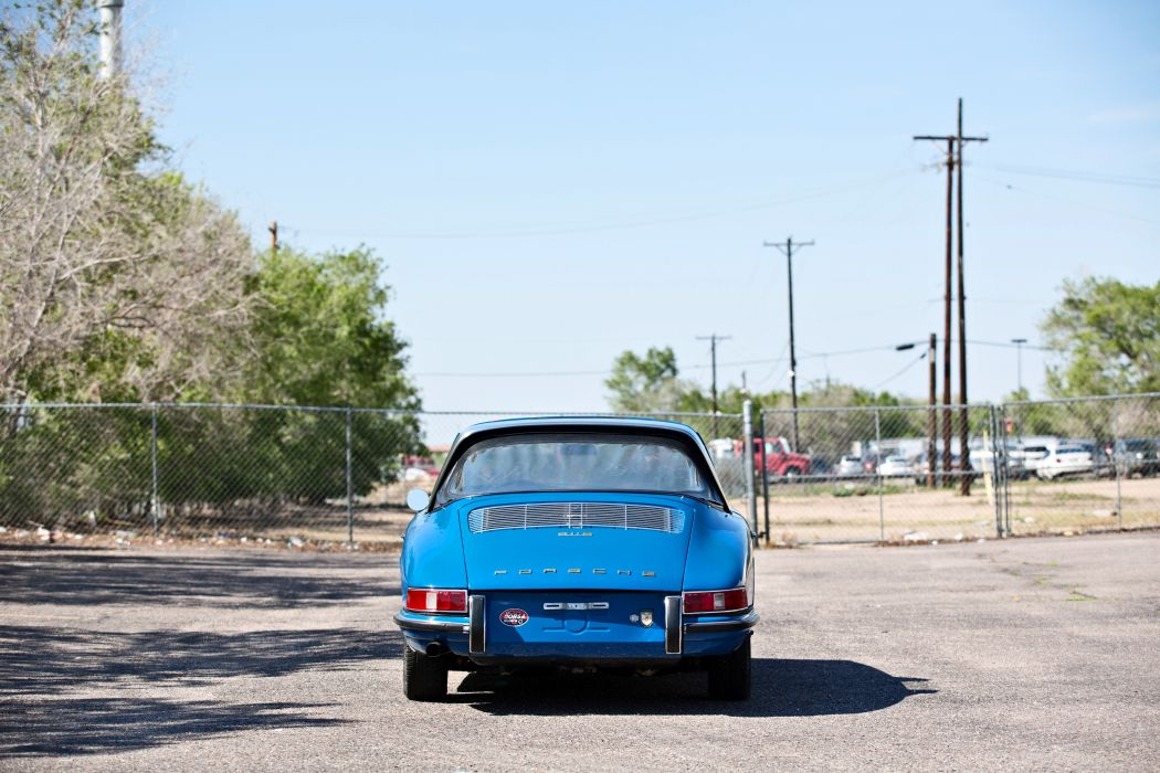 1967 Porsche 911S Soft Window Targa Coupe Classic Exotic Old BLue Germany -08 wallpaper