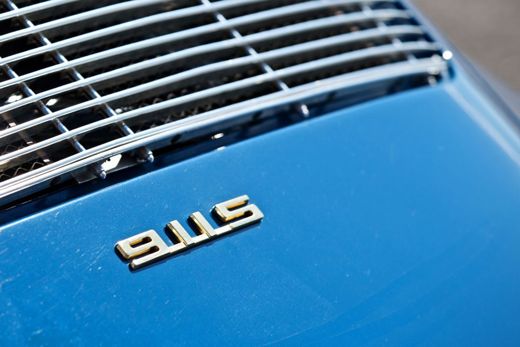 1967 Porsche 911S Soft Window Targa Coupe Classic Exotic Old BLue Germany -15 wallpaper