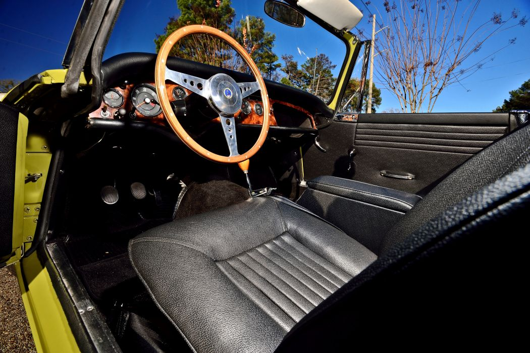 1967 Sunbeam Tiger MkII Roadster Classic Old Original -04 wallpaper