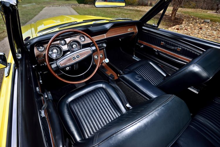 1967 Ford Mustang Shelby GT500KR Convertible Muscle Classic Old Original USA -04 wallpaper