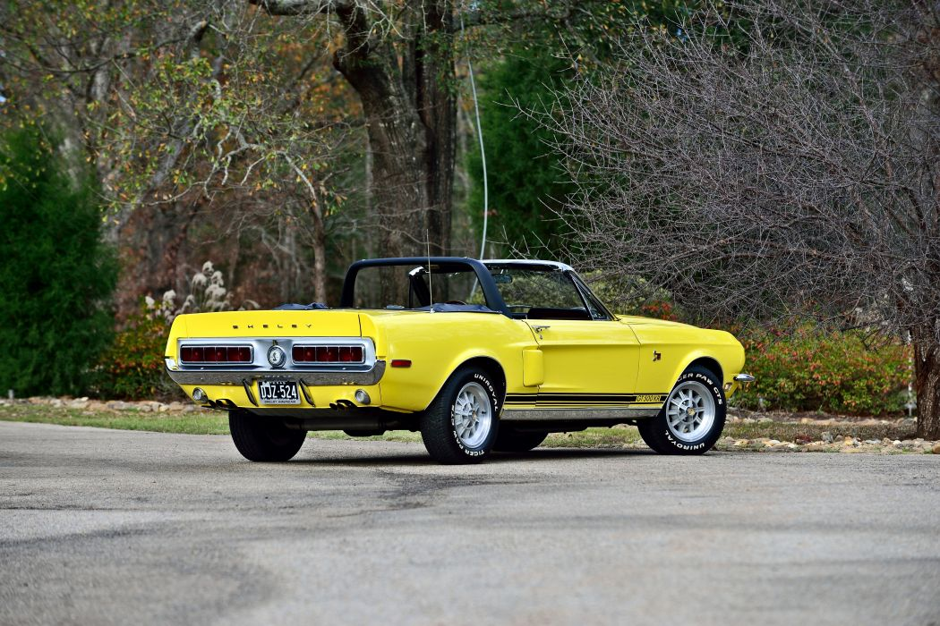 1967 Ford Mustang Shelby GT500KR Convertible Muscle Classic Old Original USA -03 wallpaper