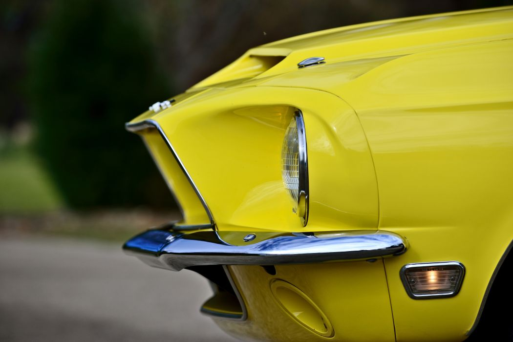 1967 Ford Mustang Shelby GT500KR Convertible Muscle Classic Old Original USA -09 wallpaper