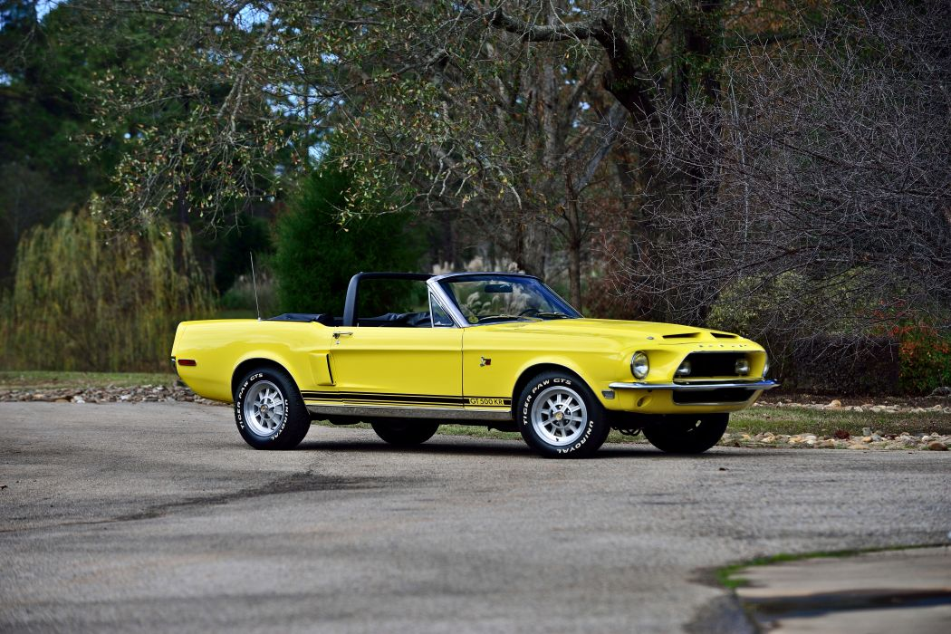 1967 Ford Mustang Shelby GT500KR Convertible Muscle Classic Old Original USA -12 wallpaper