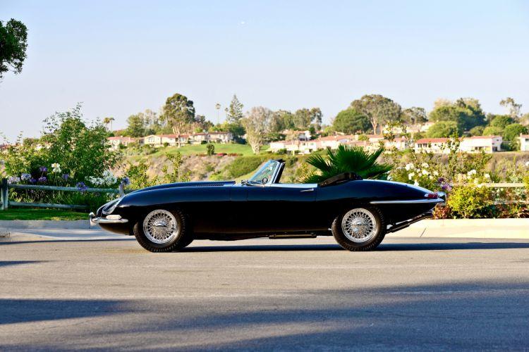1967 Jaguar E-Type Series-1 Roadstspot Convertible Classic Old Exotic Original Englad -02 wallpaper
