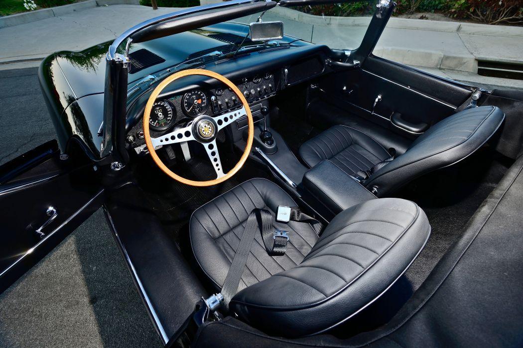 1967 Jaguar E-Type Series-1 Roadstspot Convertible Classic Old Exotic Original Englad -04 wallpaper