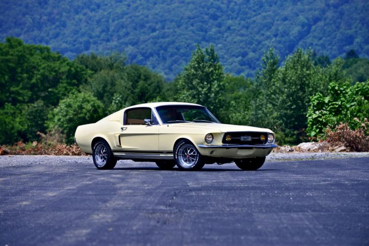 1967 Ford Mustang Fastback GTA Muscle Classic Old Original USA -08 wallpaper