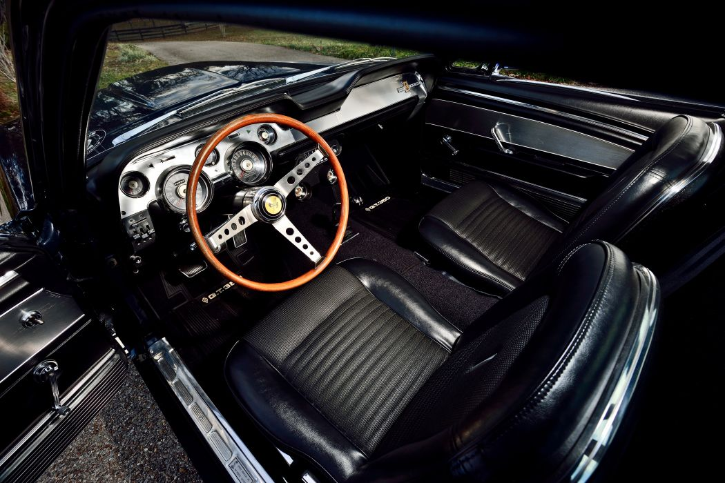 1967 Ford Mustang Sheby GT350 Fastback Muscla Classic Old Original USA -04 wallpaper