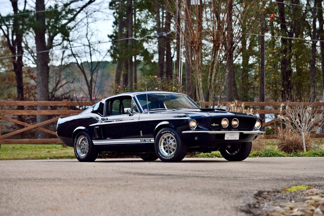 1967 Ford Mustang Sheby GT350 Fastback Muscla Classic Old Original USA -12 wallpaper