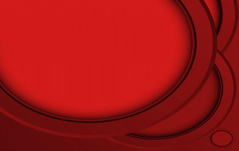 Red 0vals wallpaper
