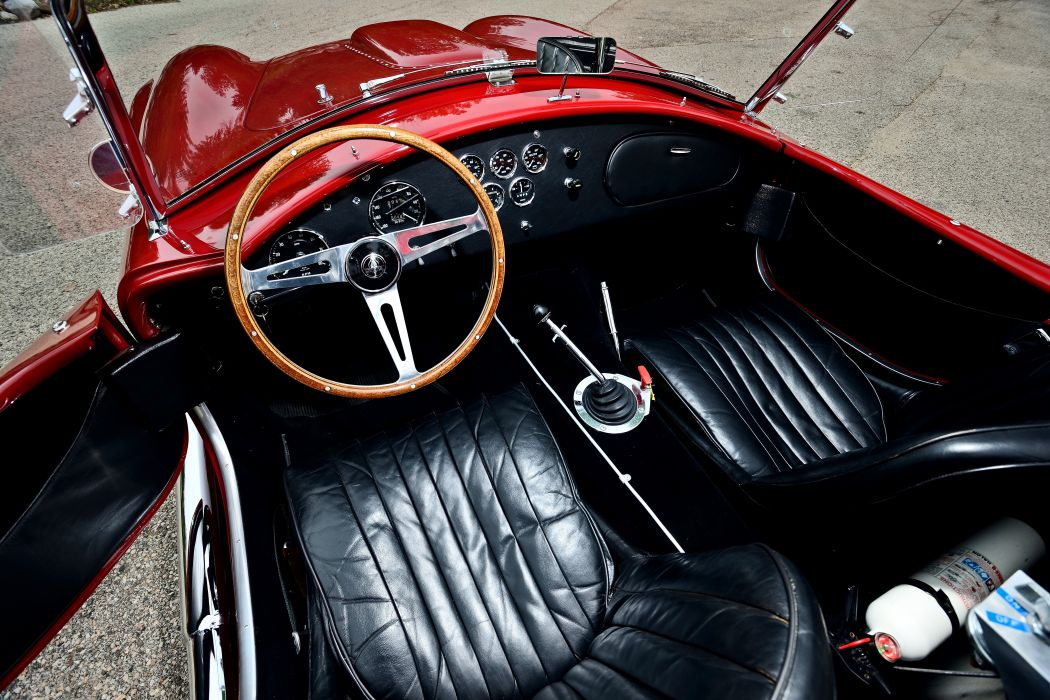 1966 Ford Shelby 427 Cobra Roadster Muscle Sport Classic Old Original USA -04 wallpaper