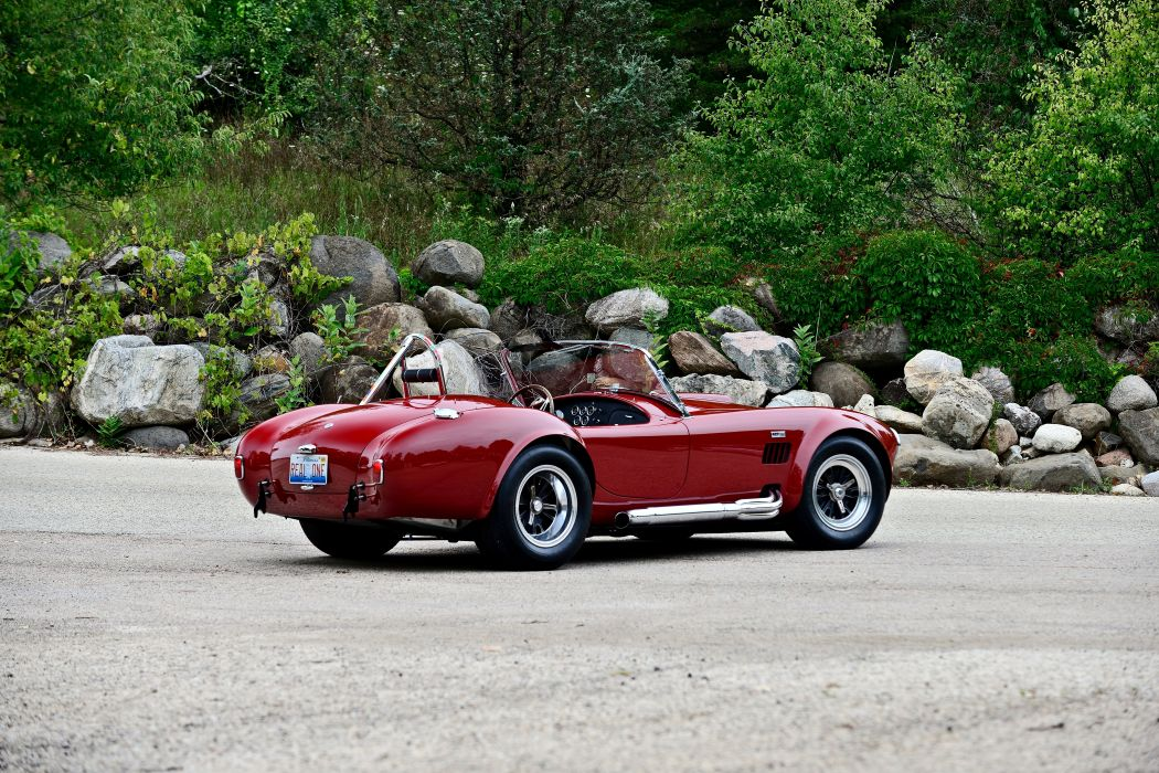 1966 Ford Shelby 427 Cobra Roadster Muscle Sport Classic Old Original USA -03 wallpaper