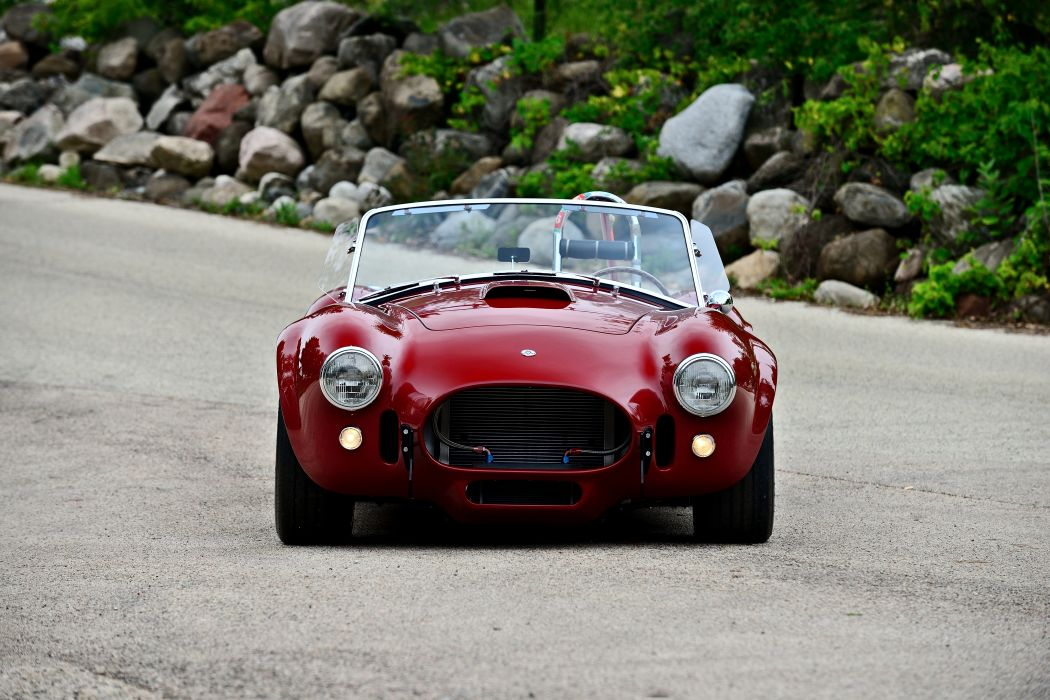 1966 Ford Shelby 427 Cobra Roadster Muscle Sport Classic Old Original USA -09 wallpaper