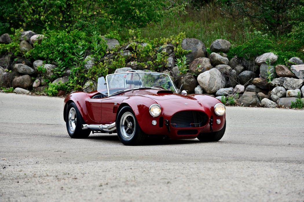 1966 Ford Shelby 427 Cobra Roadster Muscle Sport Classic Old Original USA -10 wallpaper