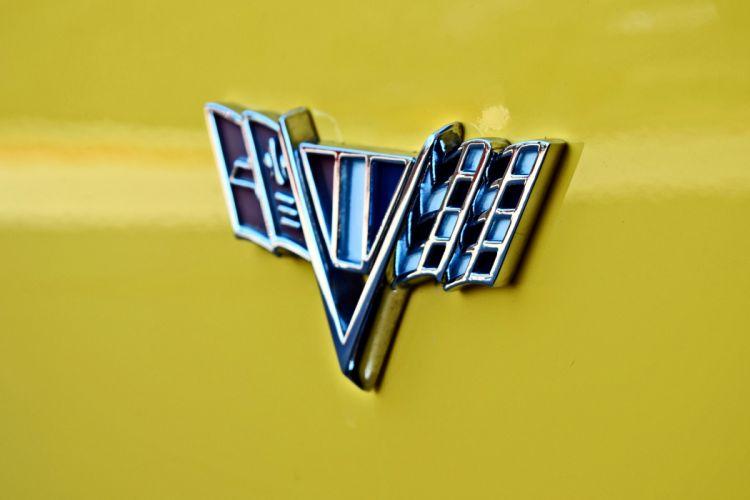 1967 Chevrolet Pickup El Camino Hotrod Streetrod Hot Rod Street Yellow USA -17 wallpaper