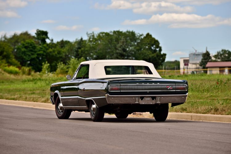 1967 Dodge Hemi Coronet RT Convertible Muscle Old Classic Original USA -06 wallpaper