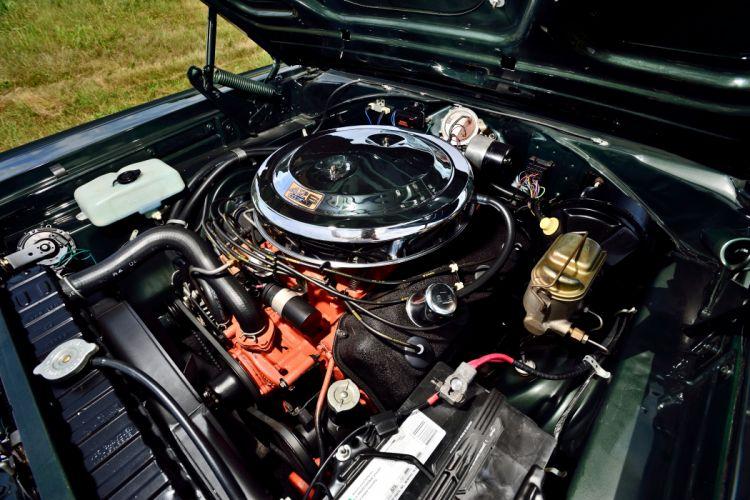 1967 Dodge Hemi Coronet RT Convertible Muscle Old Classic Original USA -06 (2) wallpaper