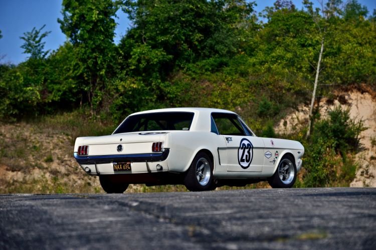 1965 Ford Mustang Coupe Race Car USA -03 wallpaper