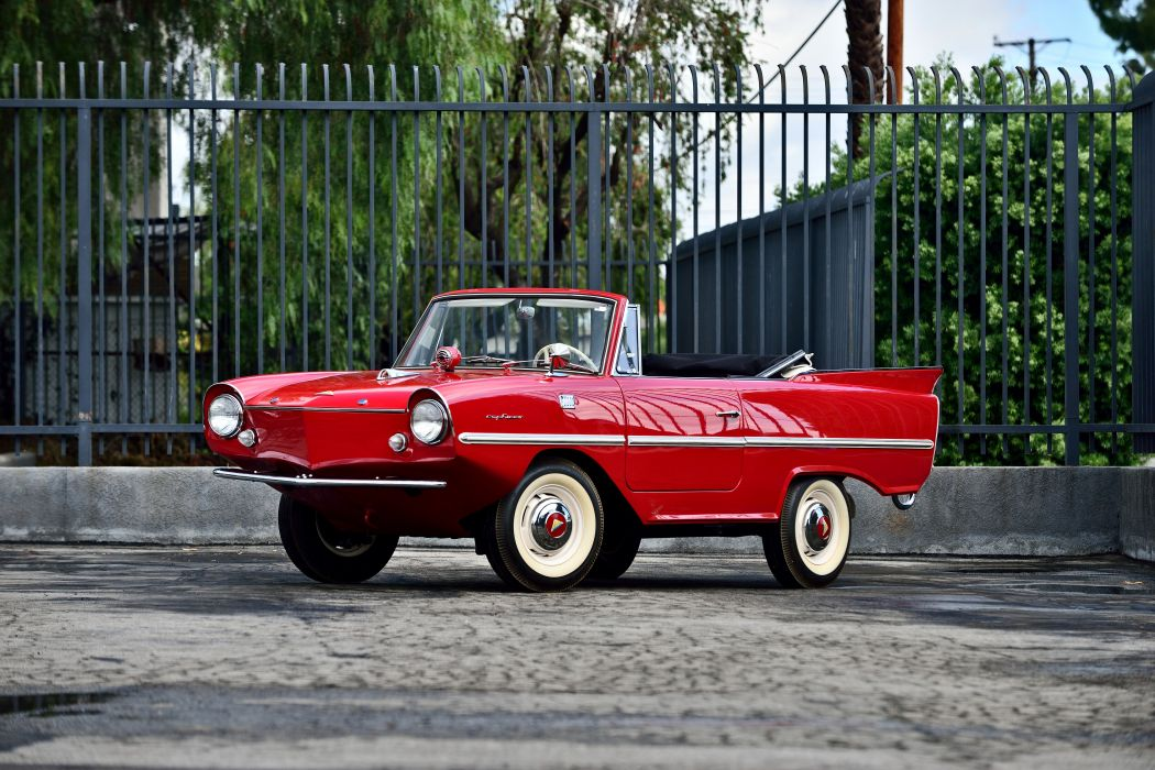 1965 Amphicar Convertible Classic Old Nautic Original USA -01 wallpaper