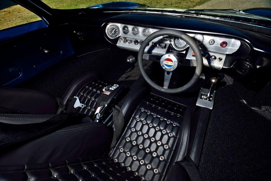 1965 Ford GT40 Replica Race Car Classic USA -05 wallpaper