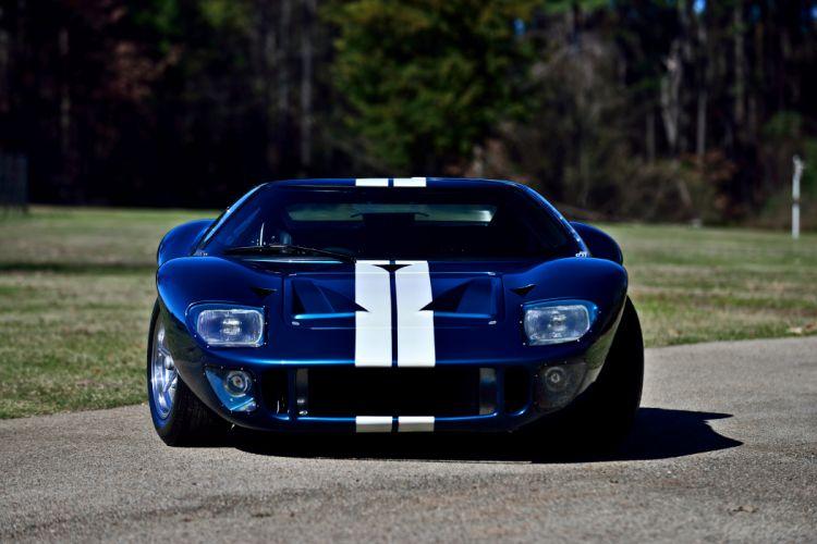 1965 Ford GT40 Replica Race Car Classic USA -11 wallpaper