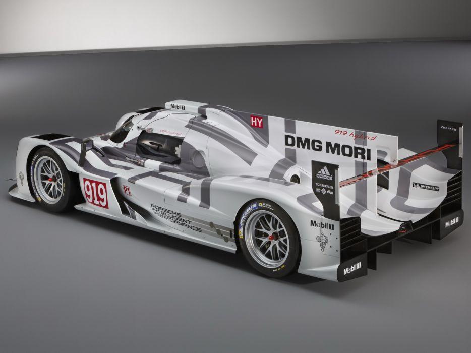 Porsche 919 Hybrid 9R9-14 Race Car 2014 wallpaper