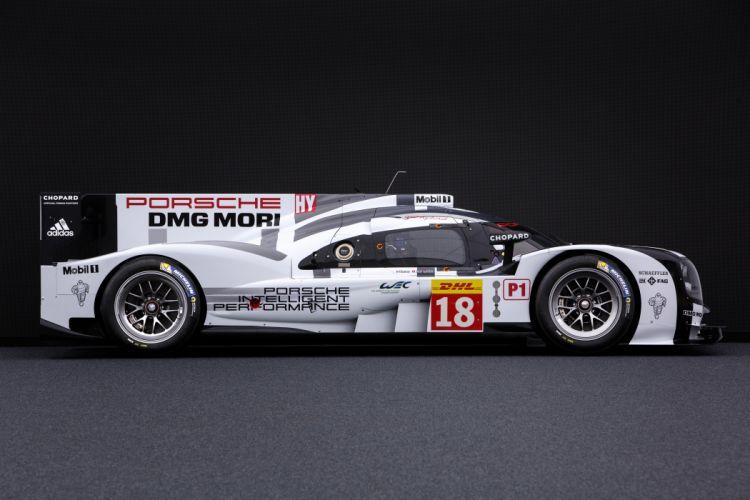 Porsche 919 Hybrid 9R9-15 Race Car 2015 wallpaper