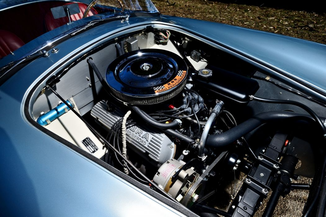 1964 Shelby 289 Cobra Roadstaer Sport Classic Old Original USA -07 wallpaper