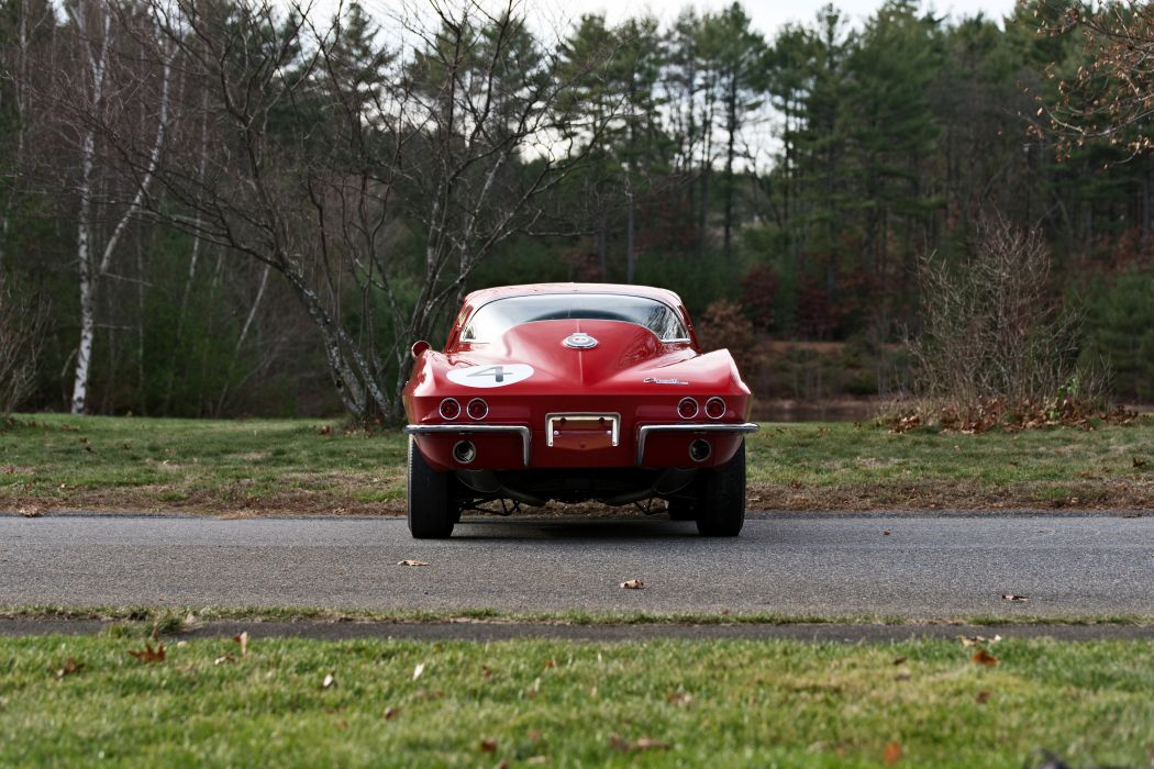 1964 Chevrolet Corvette Stingray Tanker Muscle Old Classic Original USA -05 wallpaper