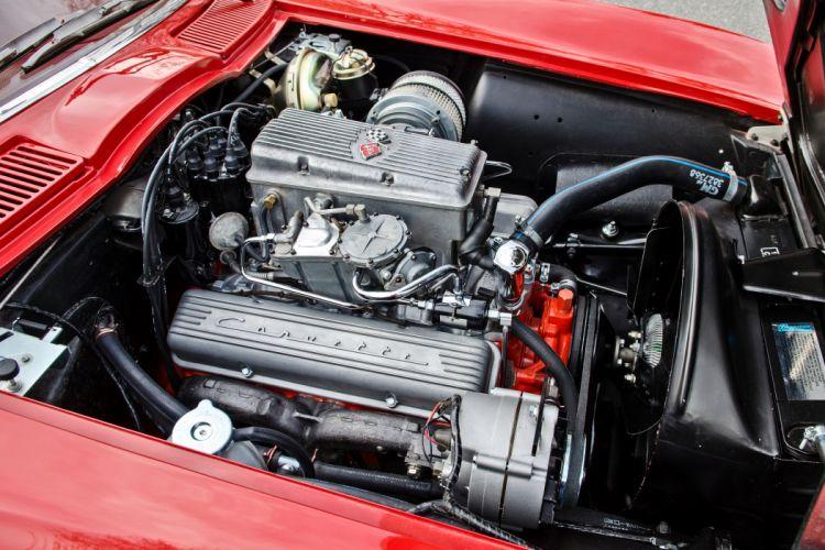 1964 Chevrolet Corvette Stingray Tanker Muscle Old Classic Original USA -19 wallpaper