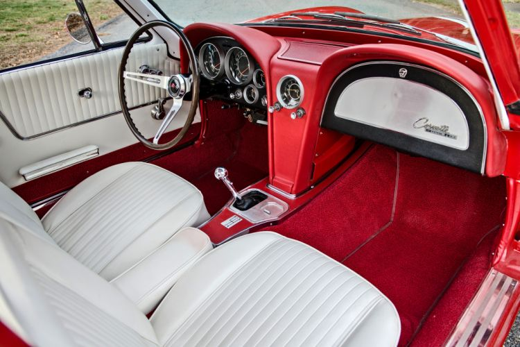 1964 Chevrolet Corvette Stingray Tanker Muscle Old Classic Original USA -23 wallpaper