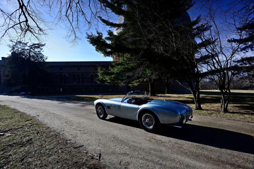 1964 Shelby 289 Cobra Roadstaer Sport Classic Old Original USA -10 wallpaper
